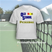 "Pickleball T-Shirt ""Old School"""