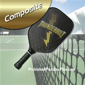 Thunderbolt Composite Pickleball Paddle Olive Green