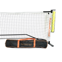 Rally Portable Pickleball Net System, including ball holder