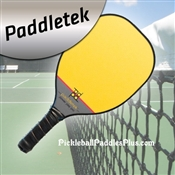 Yellow Power Play Pro Polymer Composite Paddle