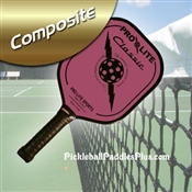 Black on Pink Classic Composite Paddle