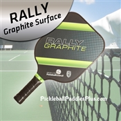 Green Rally Graphite Paddle