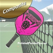 Black on Pink Slammer Composite Paddle