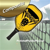 Black on Yellow Stryker Composite Paddle