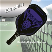 Purple Stryker Graphite Paddle