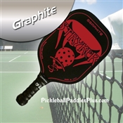 Red Stryker Graphite Paddle