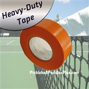 Pickleball Court Tape-Heavy Duty Orange Tape