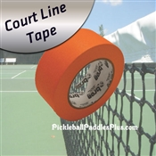 Pickleball Court Tape-Court Line Masking Orange