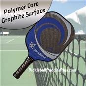 Pickleball Paddle Tempest Graphite Blue