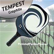 Pickleball Paddle Tempest Graphite Grey