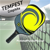 Pickleball Paddle Tempest Graphite Yellow