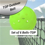 Pickleball Balls TOP OutdoorNeon Six Pack