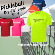 Dri Fit Style Pickleball Shirt Ten Zero Start