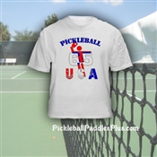 "Pickleball T-Shirt ""USA"""