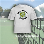 "Pickleball T-Shirt ""World"""
