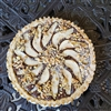 Chocolate Pear Walnut Crostata