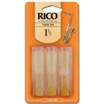 Rico 3 Pack Tenor Sax Reed