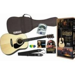 GigMaker Deluxe Acoustic Guitar Pack (Natural)