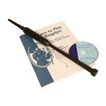 Rosewood Practice Chanter, Black,Book&CD