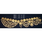 Belt, Brass, Coins & Bells 32""