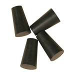 Rubber Stoppers, #00, Set of 4