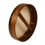 "Bodhran, 18""x4"", Tune, Rosewood, Single"