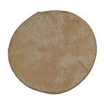 Dholak Goatskin Unloaded Head, 6""