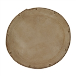 Dholak Goatskin Unloaded Head, 7""