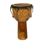 "Djembe, 12""x22"",  Rosewood, Bolt Tuned"