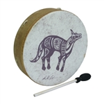 "Remo Buffalo Drum 14"" x 3.5"" Lone Coyote"