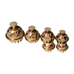 Elephant Bells, Set of 6, White
