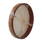 "Frame Drum, 14"", with Beater"