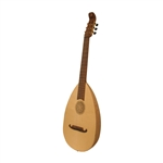 Lute-Guitar, 6 String, Lacewood, Gears