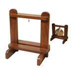 "Gong Stand, Rosewood (6"" holding size)"