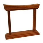 Gong Stand, Rosewood, Curved, 6""