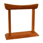 Gong Stand, Rosewood, Curved, 7""