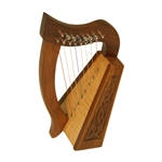 Lily Harp TM, 8 Strings, Knotwork
