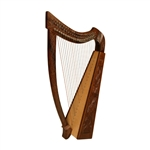 Heather Harp TM, 22 Strings, Vine Design