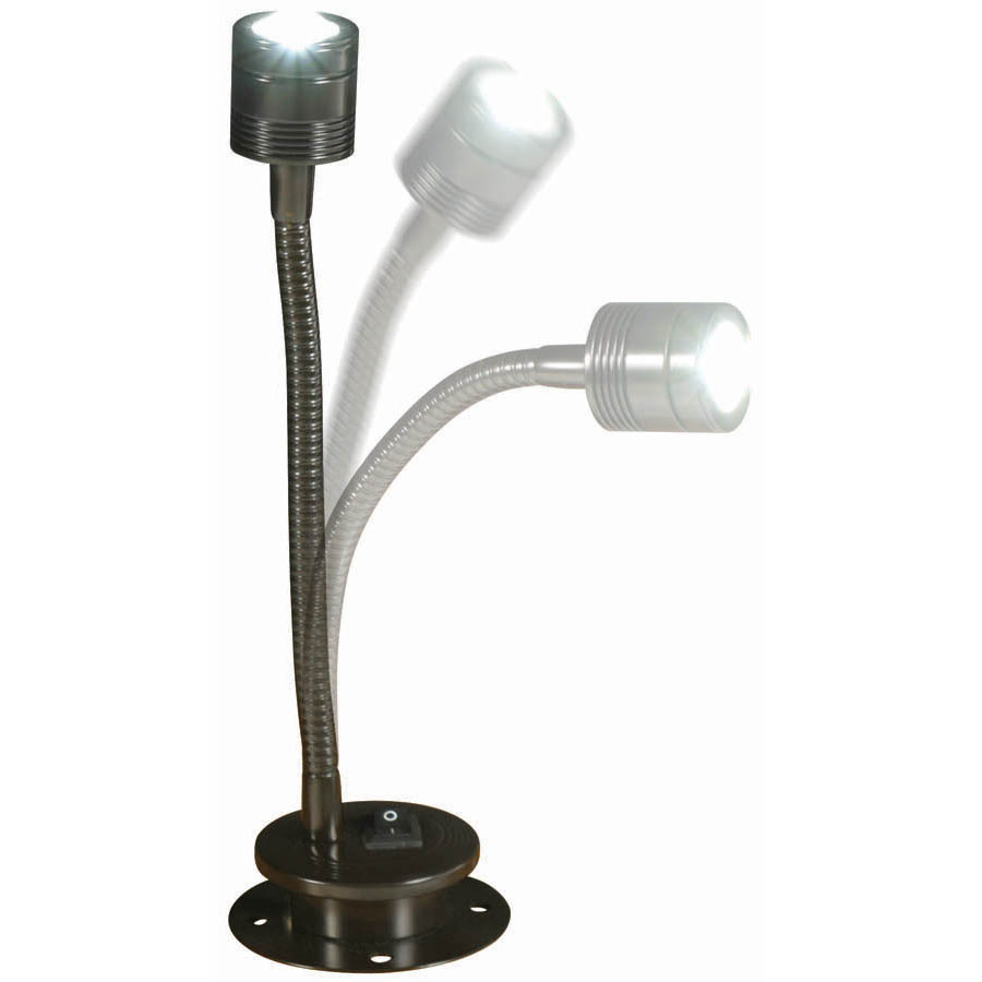 "Cherokee Led Uplight Gooseneck Light: 12"" Gooseneck Led Light"