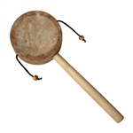 Monkey Drum with Handle, 3.25""