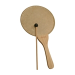"Paddle Drum, 10"", Natural, w/ Mallet"