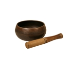 Singing Bowl, Decorated, 4 3/4""