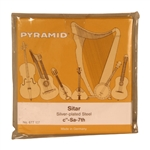 Sitar String Set by Pyramid, 7-String