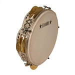 "Egyptian Tambournine, Tunable, 9"", Wave"