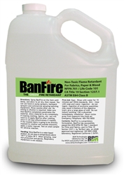BanFire Retardant for Fabric - 1 Gallon