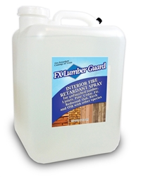 Lumber Guard fire retardant for Interior Wood