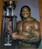 TONY ATLAS signed poster!!