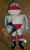 GIANT BABA All Japan vintage Plush Doll w/ Tags