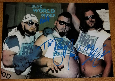 THE B.W.O. signed poster