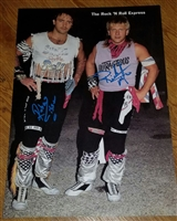 THE ROCK N ROLL EXPRESS signed poster